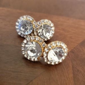 Charlotte rhinestone earrings